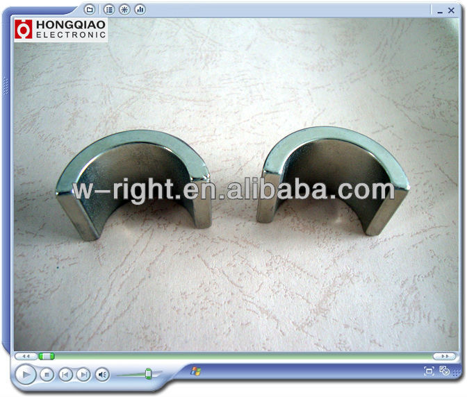Good quality arc size use for motor magnet