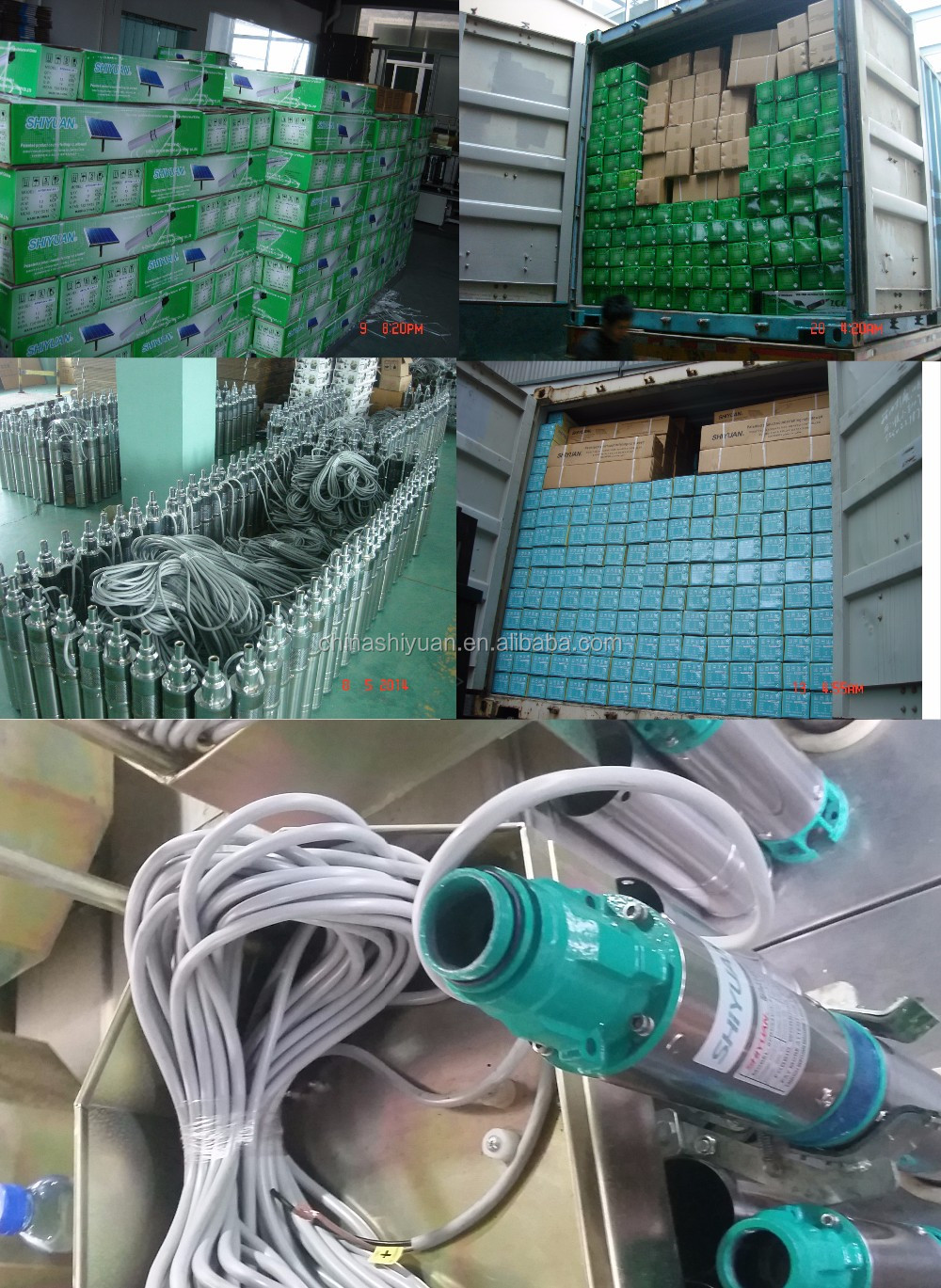 HIGH PRESSURE Submersible pump DC 12-18V 150W with 20Mcable.
