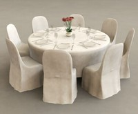 Banquet folding table catering table