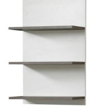 high quality wooden store shelf with melamine laminated