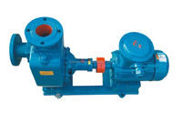Marine steering rotary vane pump type load and unload oil pump
