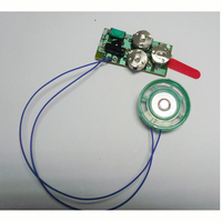 Recordable sound module for music box and toys
