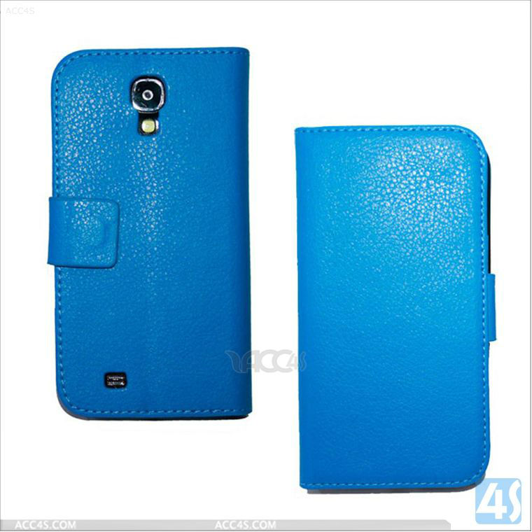 Litchi Grain Purse Stand Phone Leather Case with Magnet Buckle for Samsung Galaxy Mega 6.3/i9200 P-SAMI9200CASE032