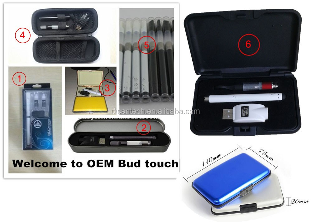 Custom logo o pen vape bud touch 510 buttonless battery and usb charger kit wholesale
