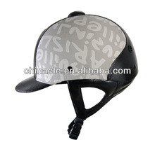 leather Equestrian riding helmet