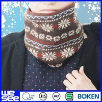 neck warmer with scarf knitting patterns