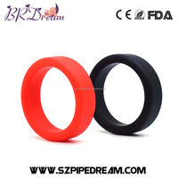 Silicone Delay penis Cock ring sleeve extender Sex delay Penis extension for men