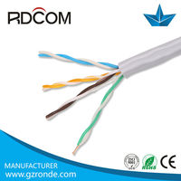 China custom cheap competitive factory providing high quality high speed 1000ft 2 pair utp cat5e cable