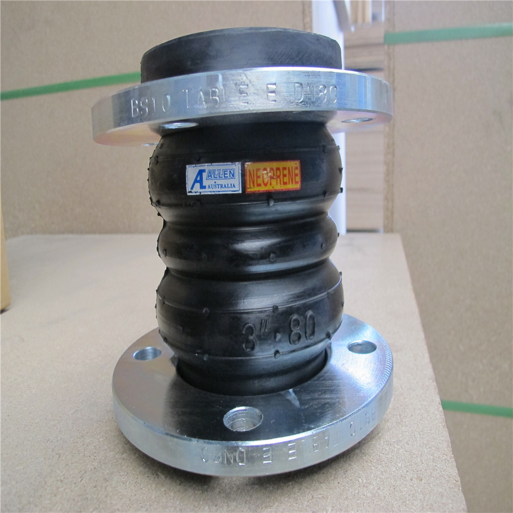 Huayuan Sell Well EPDM Twin Sphere Rubber Expansion Joint