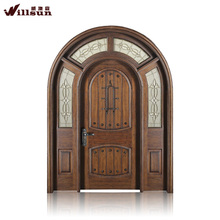 Arch mahogany double entry door mahogany garage door