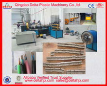Electrical wire protect plastic corrugated tube extrusion machine