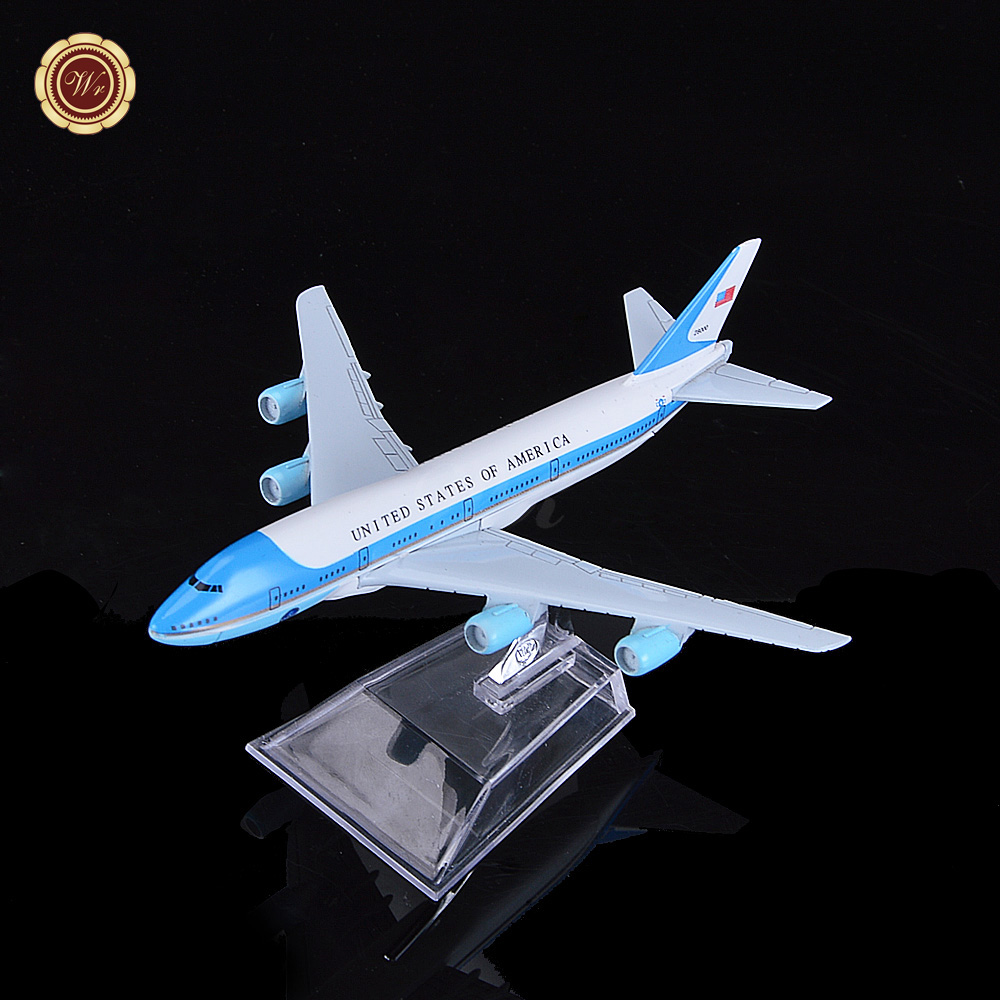 WR <strong>Metal</strong> American Airlines Boeing 777 Airplane Souvenir Gift Novelty Plane Model Toys 16cm