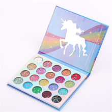 Private Label Make Up Cosmetics Branded Wholesale Makeup Pressed Glitter Eyeshadow
