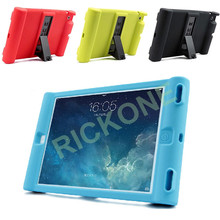 Shockproof Soft Silicone Stand Case Cover For Apple iPad 2 3 4 Protective Drop Proof Cover For Home Kids Students Children
