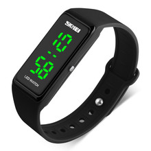 skmei silicone led watches instructions mens bracelet digital led watch