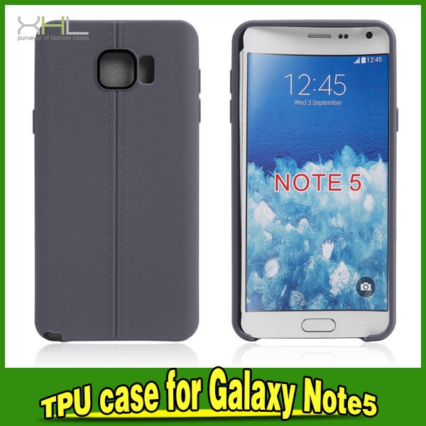 Mobile Phone Jelly Gel Cover For Samsung Galaxy Note 5 TPU Case