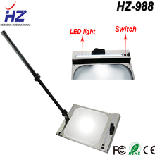 Under car inspection led mirror, under vehicle security checking mirror with light HZ-988