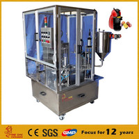 Plastic Bottle Rotary Cup Filling and Sealing Machine
