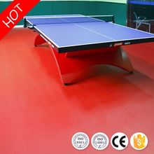Best choice noiseless ittf/bwf certificate for table tennis flooirng from china