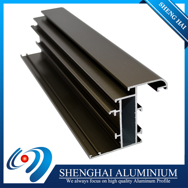 Made in china scratch resistant aluminim extruded profile for Ethiopia market