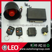 one way car alarm systems with window closer output/magicar alarm with optional remote control