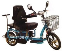 D-63 Foldable double Electric trike with double driving