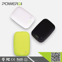 Qi standard protable qi wireless charger for lenovo with 4000mA battery