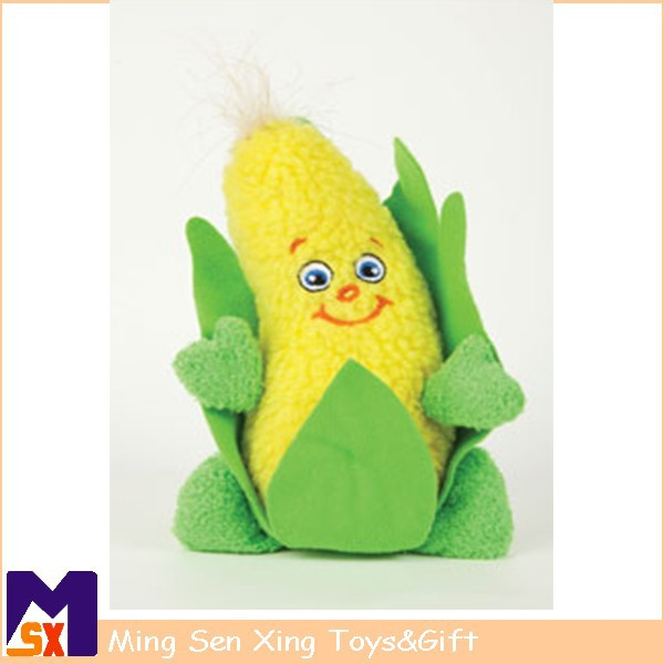 OEM factory supplier stuffed soft plush toy corn