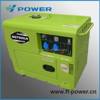 high quality recoil starter portable diesel generator