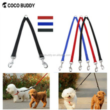 Custom Logo!!! Two pets and dogs organic pet products wholesale nylon coupler dog leash manufacturers