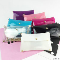 Personalized Chain Cross Body Strap wrist Classic Clutch Bag