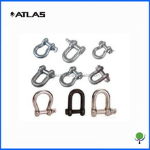 electric galvanized shackle , adjustable galvanized d shackles