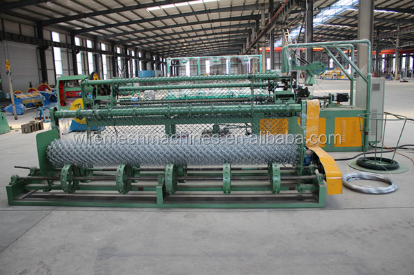 Full Automatic Double Wire Chain Link Fence making Machine/chain link fence machine