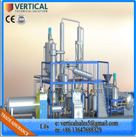 Motor Oil Recycling Machine Waste Engine Distillation Machine Used Lube Oil Recycling Plant