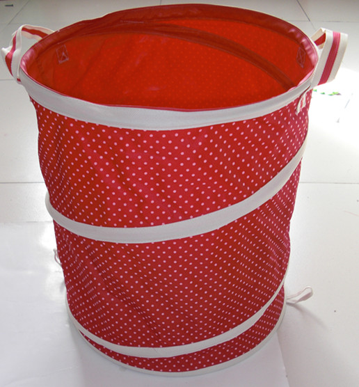 Home Usage and Polyester Material Laundry Hamper