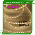 SMD3528 CE RoHS 120LEDs per meter 48W/Reel tight pitch led tape