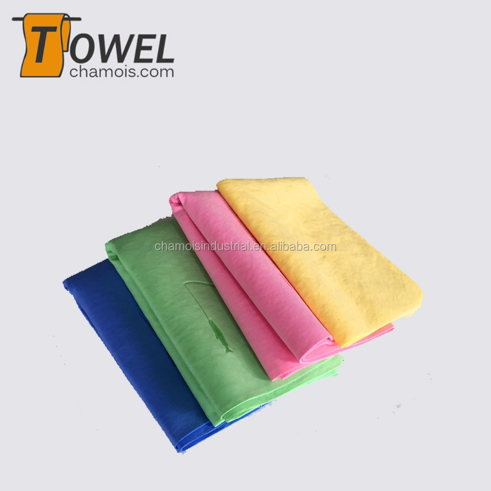 High quality pva towel cleaning hair / chamois drying towel