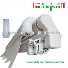 motorized awnings/door shelter/wind resistant canopy