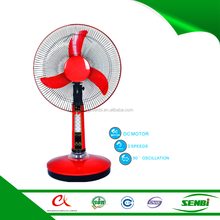 china hot sale cheap price 12v dc electric table fan with light