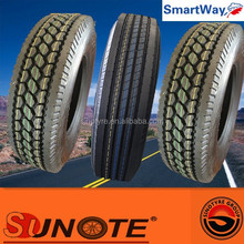 DOT SMARTWAY tires for trucks 285/75r24.5 295/75R22.5 tyre supplier and producer chinese truck tires