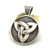 Celtic Knot Charm Pendant in Diameter 37mm Mens 316L Stainless Steel Round Charms p003038