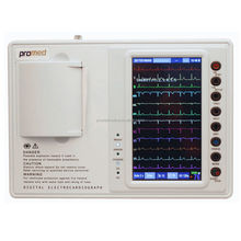 High Quality Holter Portable Fukuda Touch Screen ECG Machine 3 Channel Price