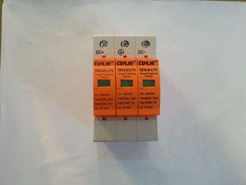 CE approved 900VDC photovoltaic surge protection, DC surge protection device