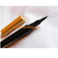 Golden fashion design makeup eyeliner best waterproof and hard wearing best makeup cosmetics for eye beauty make your own brand
