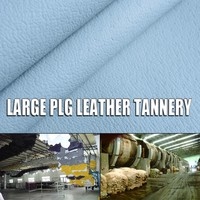 full trimmed pig leather with film coated leather lamination film cow leather tannery and smooth suede