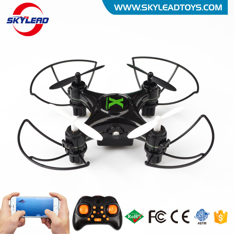 Big promotion! New product 2016 flying light toy 2.4G mini rc wifi drone with camera