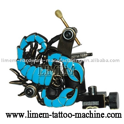 scorpion tattoo machine Skull tattoo gun 8 wrap
