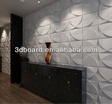 Emboss effect interior 3d ceiling panel