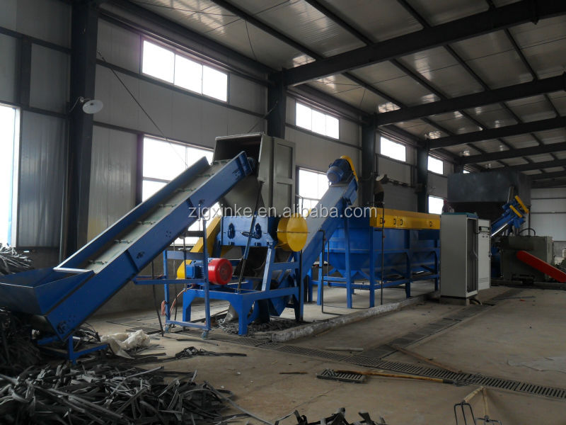 pp pe waste plastic film ton bag woven bag recycling line
