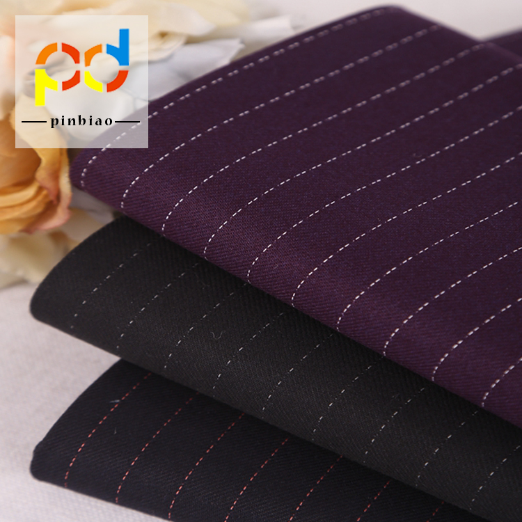 hot selling polyester rayon tr suiting fabric stock wholesale men's suit fabric for sublimation